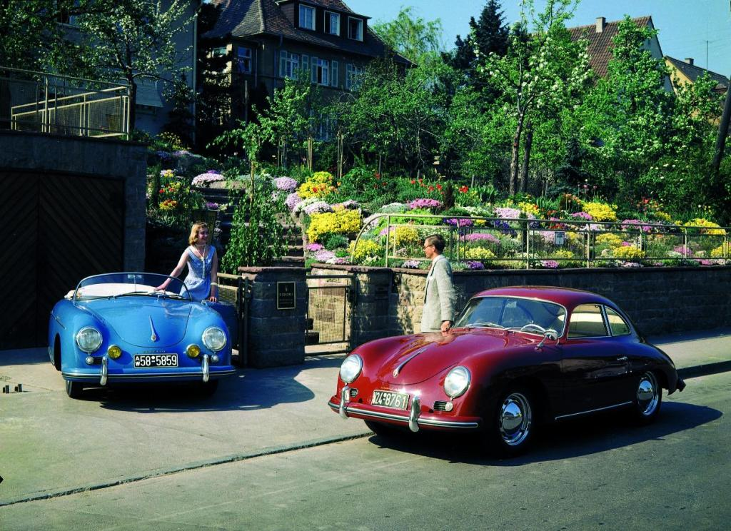 1956 356 A Coupe and 1955 356 Speedster