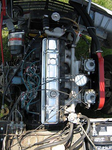 1971 GT6 engine