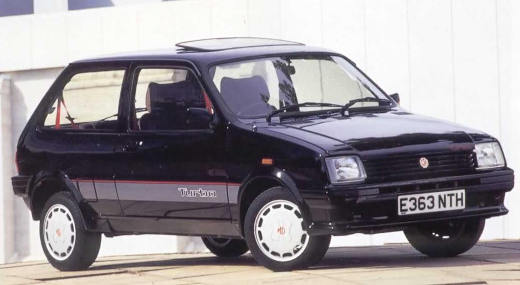 1987 MG Metro Turbo