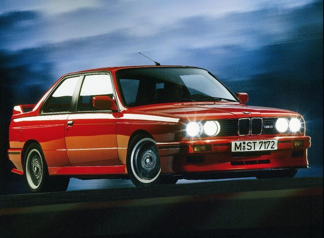 1988 BMW M3 Evolution