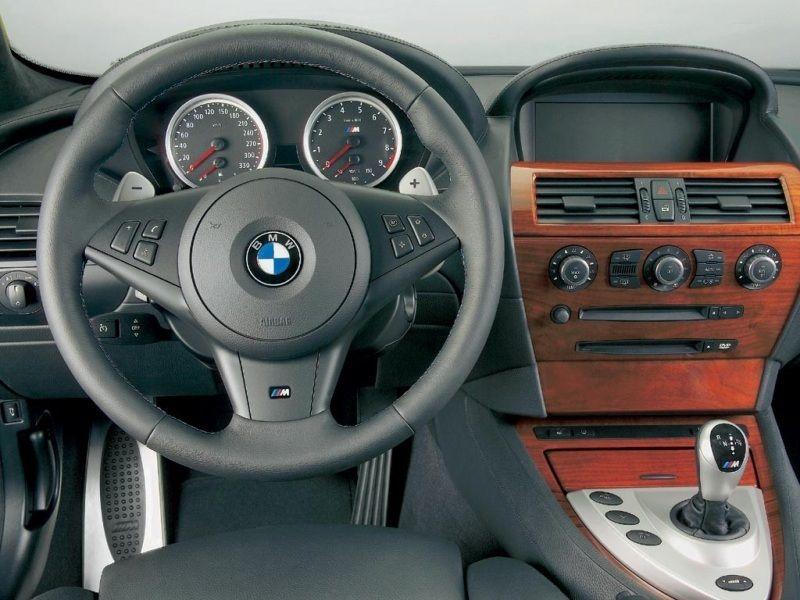 2005 BMW M6 Interior