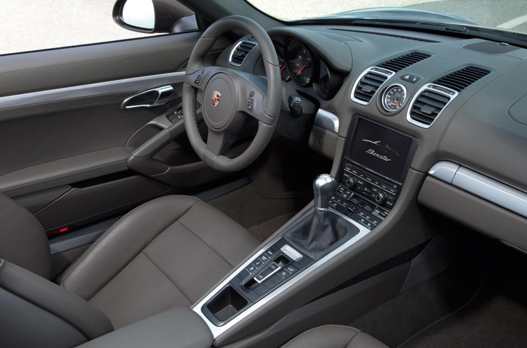 2012 Porsche Boxster Interior