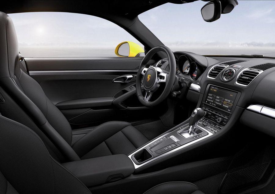 2013 Porsche Cayman S Interior