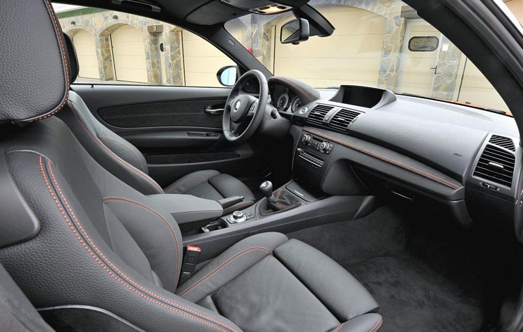 BMW 1M Coupe Interior