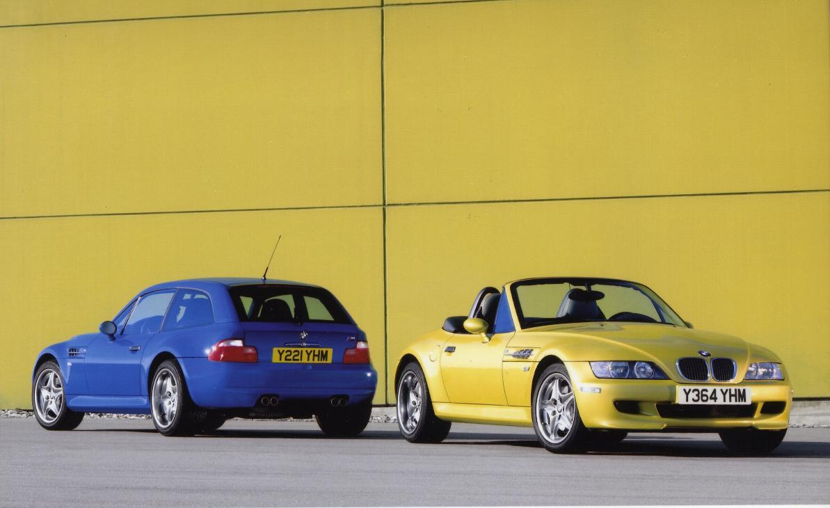 BMW M Coupe and M Roadster