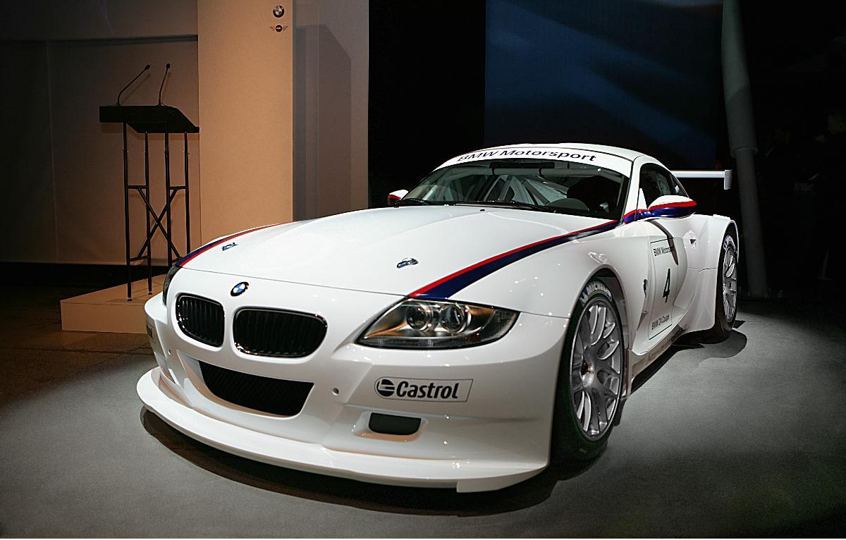 BMW Motorsport Z4M Coupe