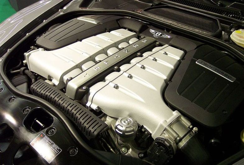 Bentley Flying Spur Engine