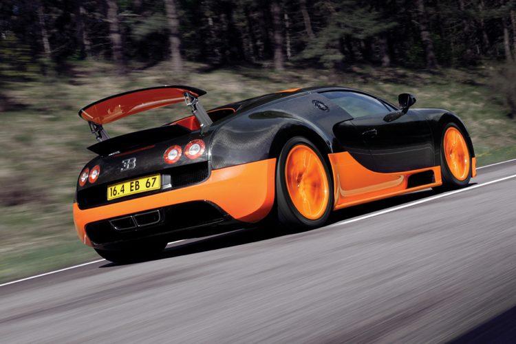 Bugatti Veyron SS Landspeed Record