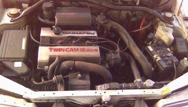 Daihatsu Charade Turbo Engine