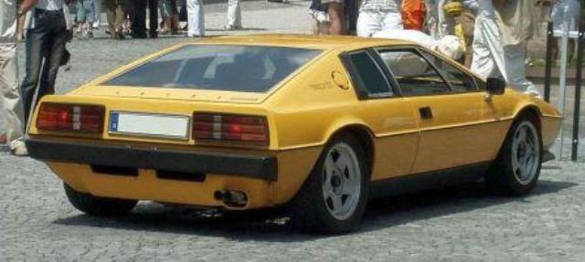 Esprit S2 Rear Side