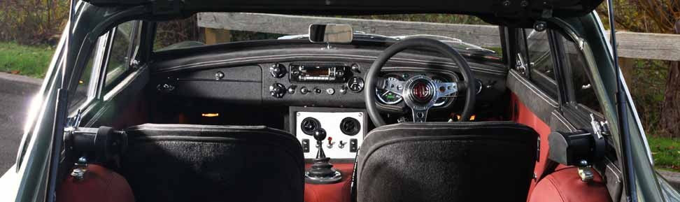 Frontline MG LE50 Dashboard