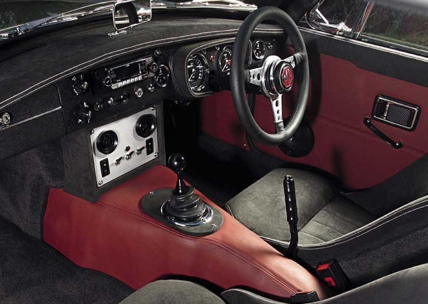 Frontline MG LE50 Interior