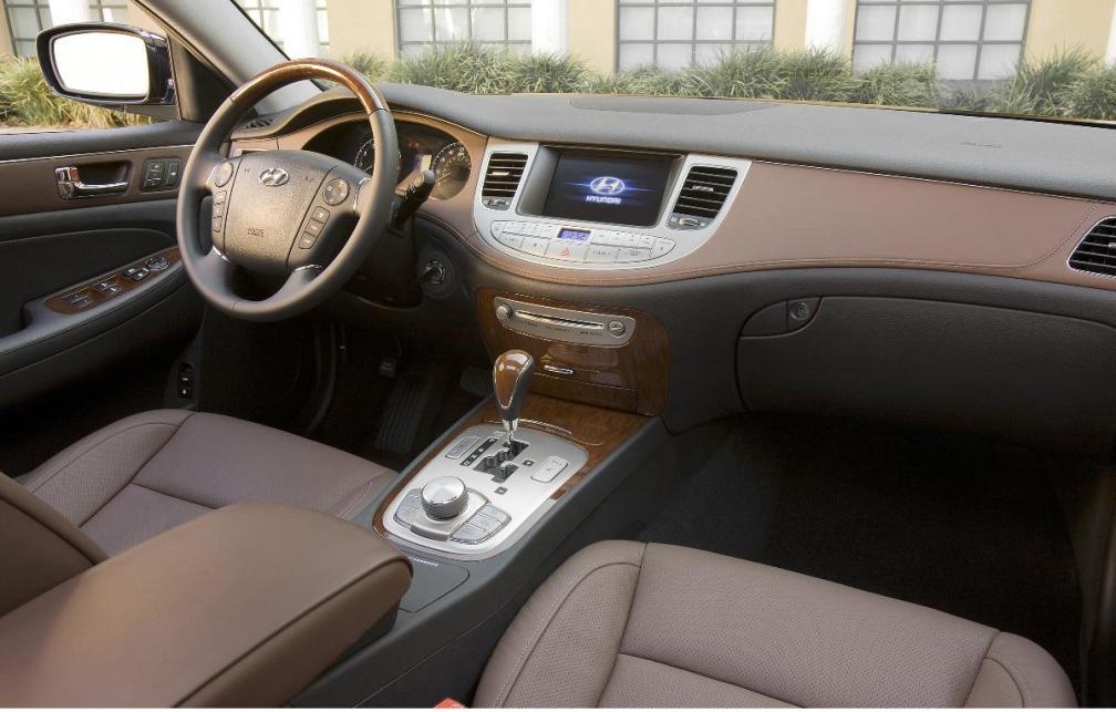 Hyundai Genesis Saloon Interior