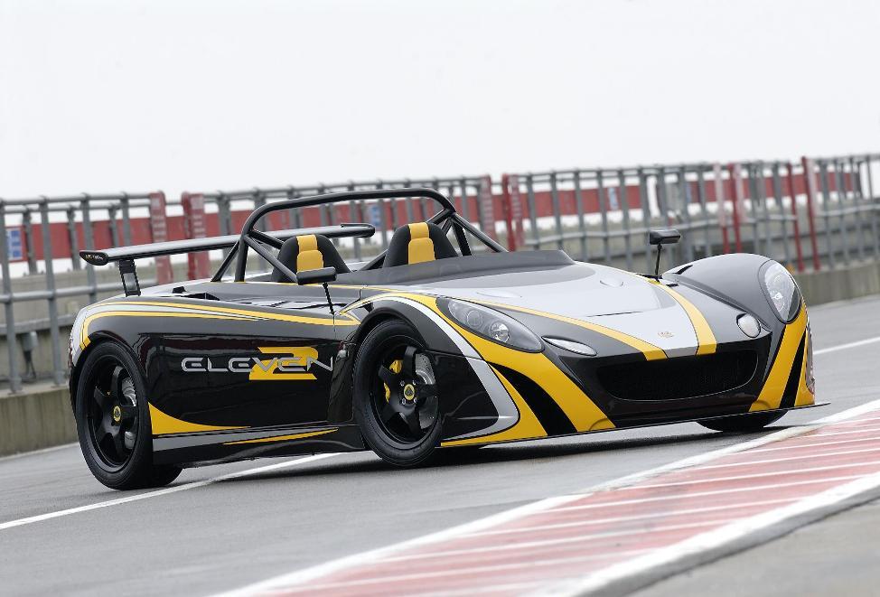 Lotus 2 Eleven on track