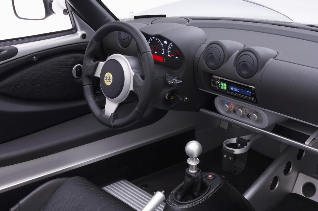 Lotus Elise SC Interior