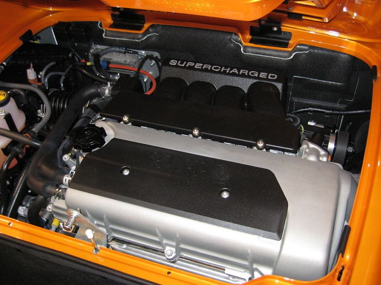 Lotus Elise SC Engine