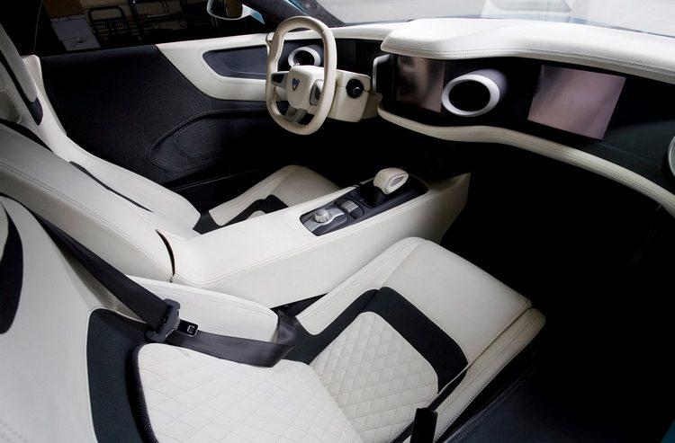Marussia B1 Interior