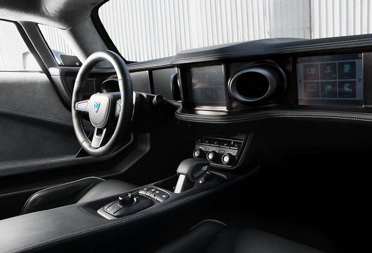 Marussia B2 Interior