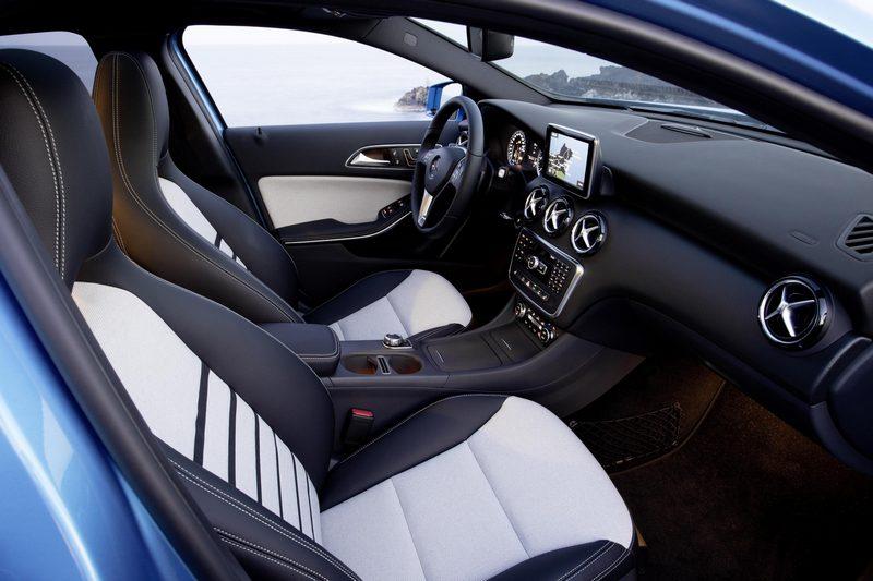 Mercedes A250 Interior
