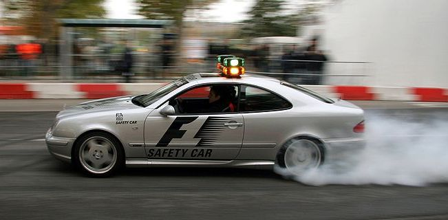 Mercedes CLK AMG Safety Car