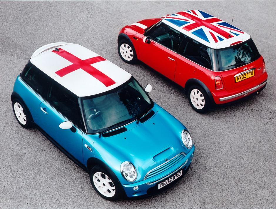 Mini Cooper and Cooper S Flags