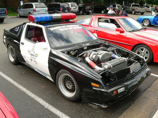 Mitsubishi Starion Turbo Police