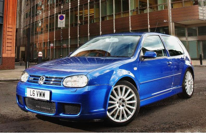 VW Golf R32 Mk4