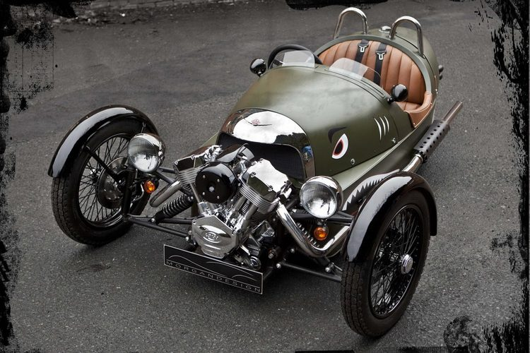 Morgan 3 Wheeler Front