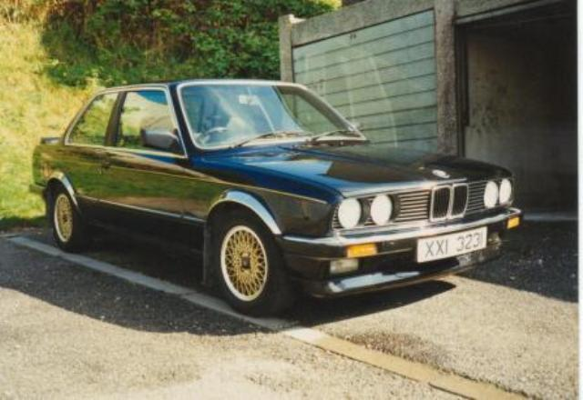 My 323i See Number Plate