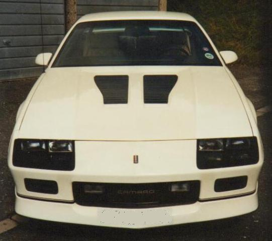My old Camaro IROC-Z