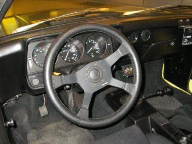 Opel Manta Rallye Interior