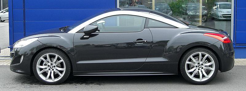 Peugeot RCZ Side