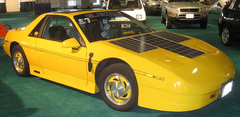Pontiac Fiero Electric Car