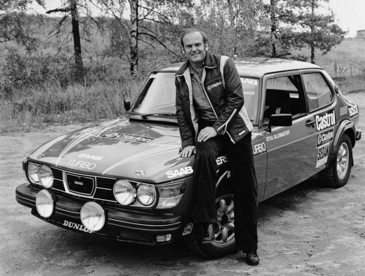 Stig Blomqvist Saab 99 Turbo