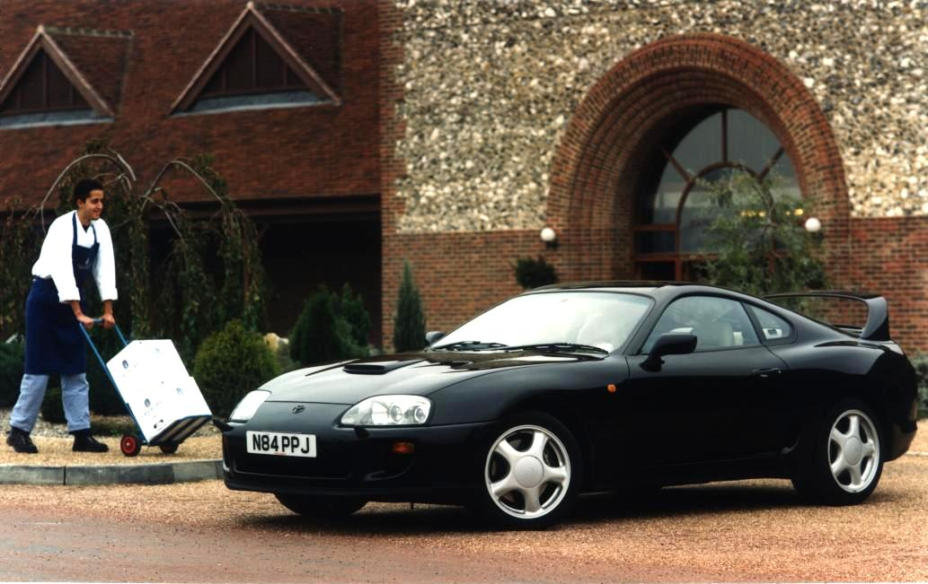 Toyota Supra TT UK