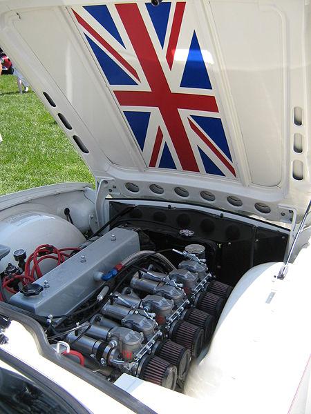 Triumph TR6 Engine