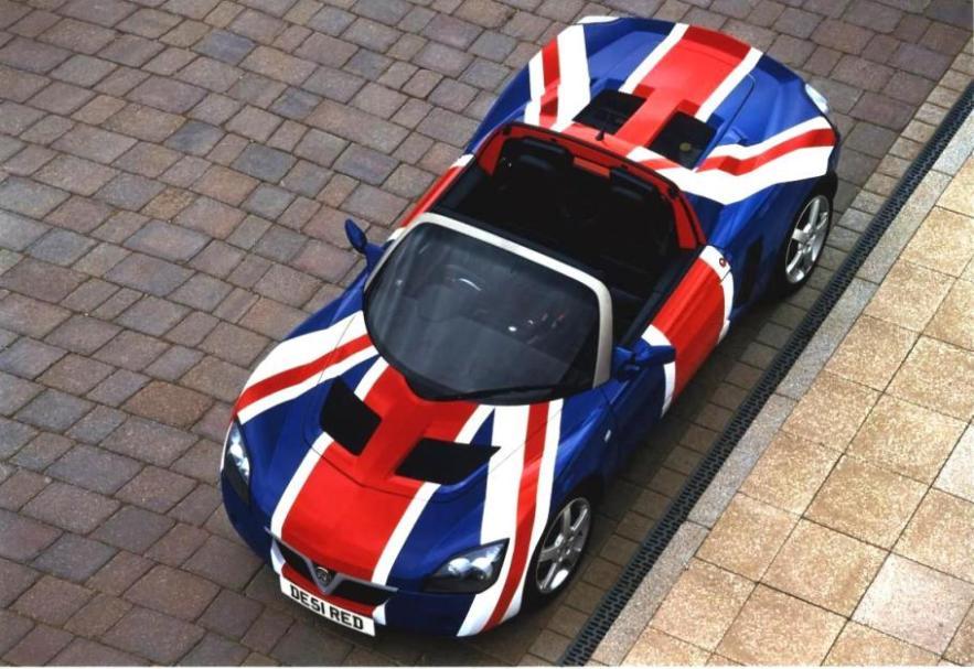 VX220 Union Jack
