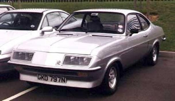 Vauxhall Firenza Droopsnoot