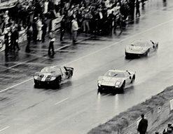 1966 GT40s Le Man