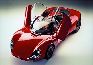 1967 Alfa Romeo 33 Stradale Rear