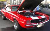 1969 Camaro SS396 Red