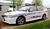 2004-2006 Holden Commodore SS Police Car