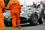 2011 Cholmondeley Pageant of Power Aston Martin DB3