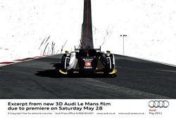 3D Audi Le Mans
