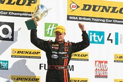Another BTCC podium double for Frank Wrathall