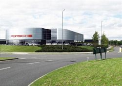 Artists impression of new Porsche Centre Solihull