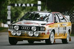 Audi Sport Quattro A2 at the Festival of Speed