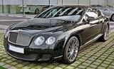 Bentley Continental GT Speed Front