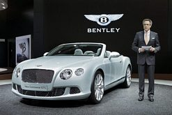 Bentley at the Frankfurt Motor Show 2011