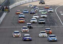 Big BTCC grid represents ten different makes